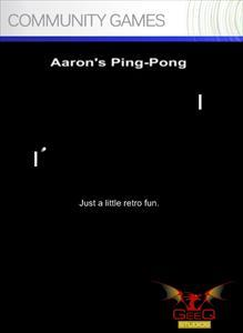 Aaron's Ping Pong