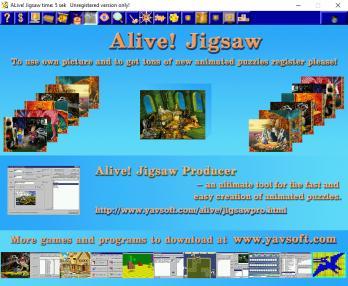 Alive! Jigsaw