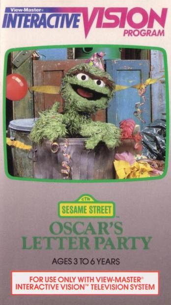 Sesame Street: Oscar's Letter Party