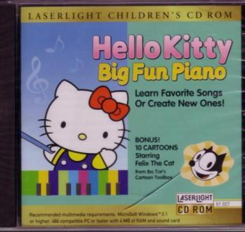 Hello Kitty's Big Fun Piano