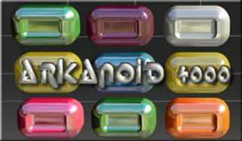 Arkanoid 4000 game
