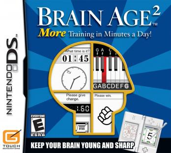 Brain Age²: More Training in Minutes a Day! game