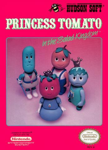 Princess Tomato in the Salad Kingdom