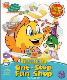 Freddi Fish's One-Stop Fun Shop