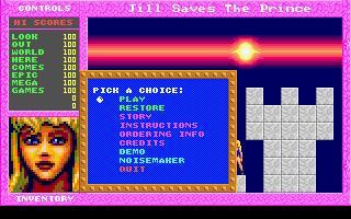 Jill of the Jungle: Jill Saves the Prince