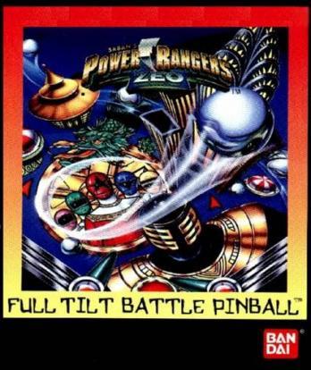 Power Rangers Zeo Full Tilt Battle Pinball