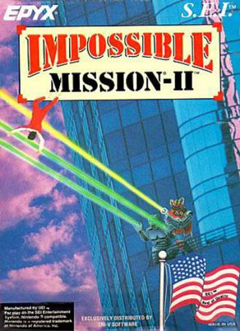 Impossible Mission-II game