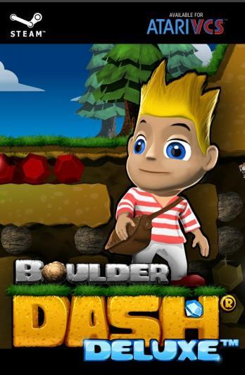Boulder Dash Deluxe game