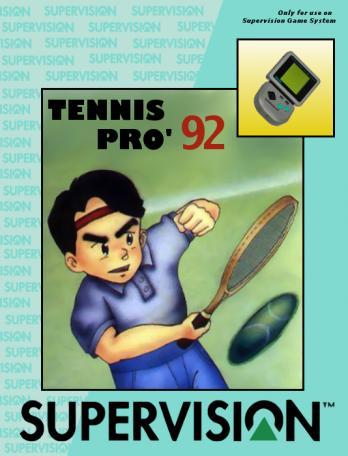 Tennis Pro '92
