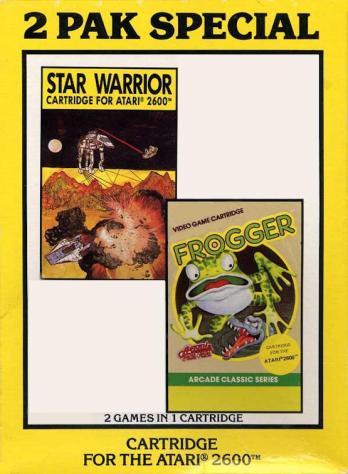 2 Pak Special: Star Warrior/Frogger